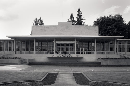 Joel M. Pritchard State Library Building, Washington State Capital Campus, 1959, photographed 2008