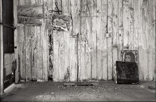 Artist's Wall, Seattle, WA  1980s © Tyler Boley